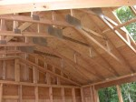 9/22/11. Vaulted ceiling in the master bedroom.
